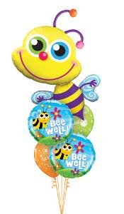 Get Well Bee Balloon Gift