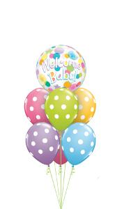 Welcome Baby Bubble Balloon Gift
