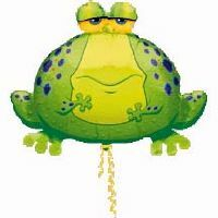 Big Bull Frog Balloon Shape