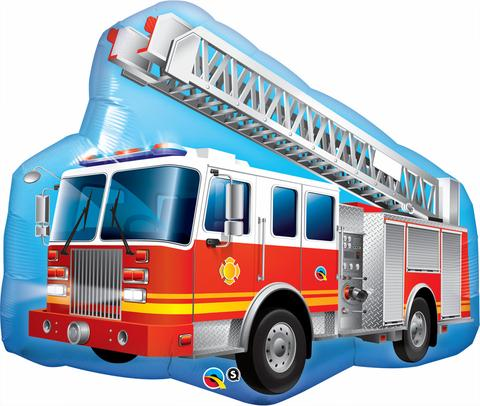 Fire Truck Shape