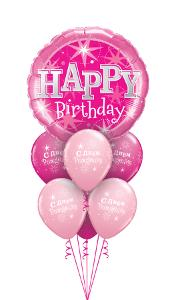 Pink Sparkle Large Balloon Gift