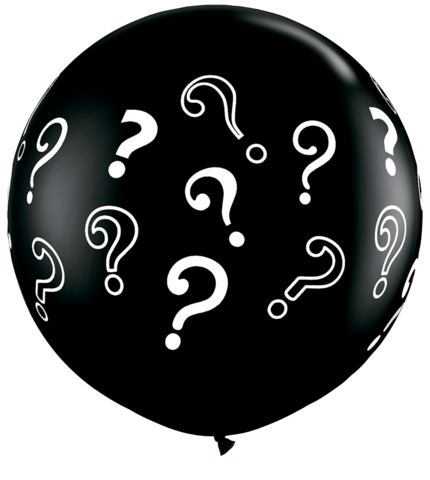 Gender Reveal Question Mark Balloon