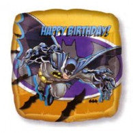 Batman Birthday Square Balloon