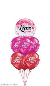 I Love You Valentines Day Balloon Gift