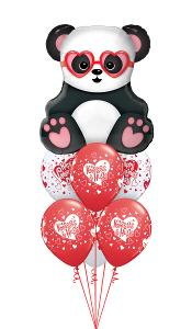 Panda Kisses & Hugs Balloon Gift