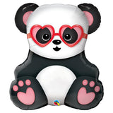 Lovestruck Panda Bear Shape Balloon
