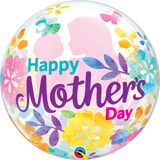 Happy Mothers Day Floral Large Balloon Gift