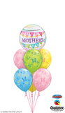 Happy Mothers Day Bubble & Butterflies Balloon Gift
