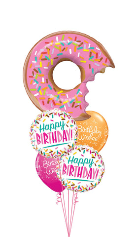 Donut and Sprinkles Balloon Gift