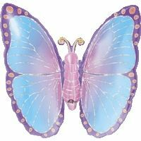 Pastel Butterfly Shape