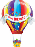 Birthday Hot Air Balloon Shape Balloon