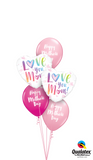 Love You Mum Balloon Gift