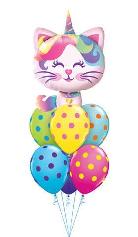Caticorn Spots Balloon Bouquet
