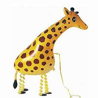 Giraffe Walking Pet Balloon
