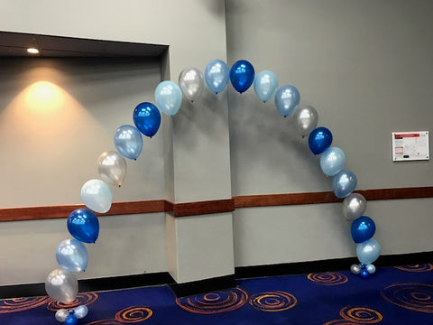 Helium Balloon Arch with Hi Float (2-3 days float time)