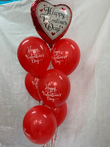 Happy Valentine's Day Red Balloon Gift