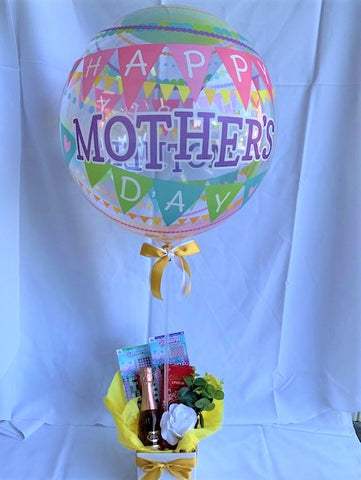 Happy Mothers Day Balloon Gift Box