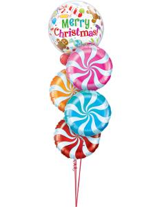 Merry Christmas Candy Swirls