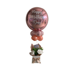 Rose Gold Mothers Day Balloon Gift Box