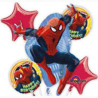 Spiderman Birthday Balloon Gift