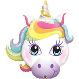 Unicorn Face Shape Balloon
