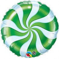 Green Candy Swirl
