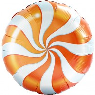 Orange Candy Swirl