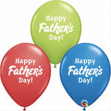 Happy Fathers Day Mix ( 6 balloons)
