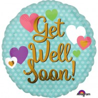 Get Well Soon Hearts