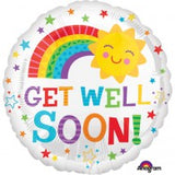 Get Well Soon Sunshine Rainbow