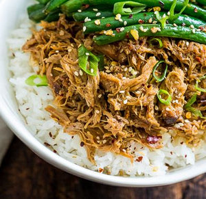 Chinese 5 Spice Pulled Chicken