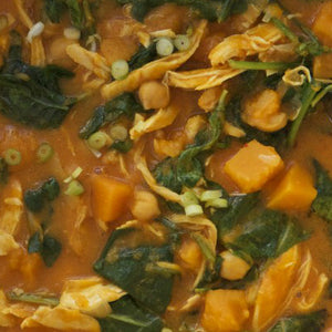Curried Indian Chicken & Butternut Stew