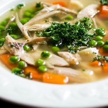 Chicken Vegetable Wonton Soup
