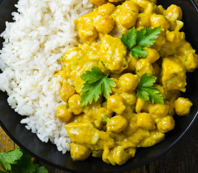 Curried Lemon Coconut Chicken