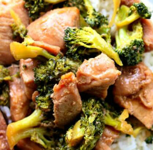 Honey Soy Pork with Broccoli