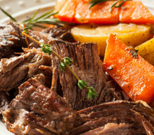 Pastured Pot Roast with Herbs De Provence & Root Vegetables