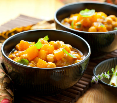 Butternut, Chick Pea & Lentil Curry