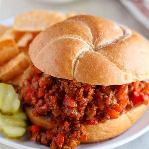 Pastured Beef Sloppy Joes