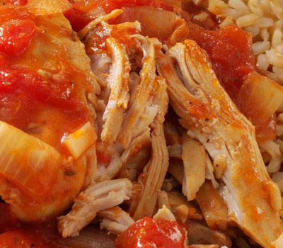 Sweet & Spicy Moroccan Tomato Chicken