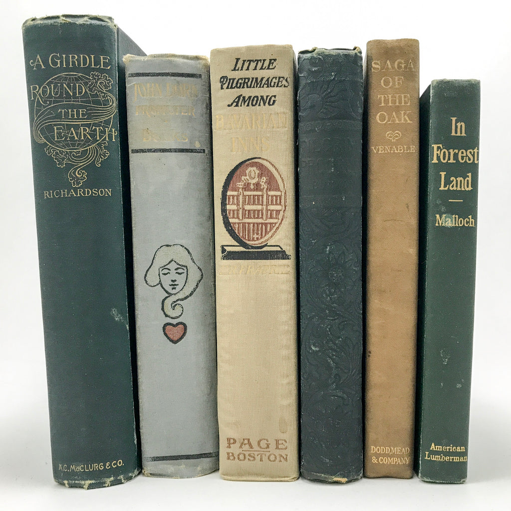 Six Books from the Personal Library of American Editor and Journalist Charles Eugene Banks - Blue Plum Collections