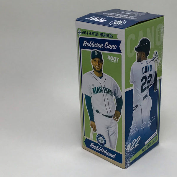 2014 Robinson Cano Bobblehead Seattle Mariners MLB Bobble Head in Box - Blue Plum Collections
