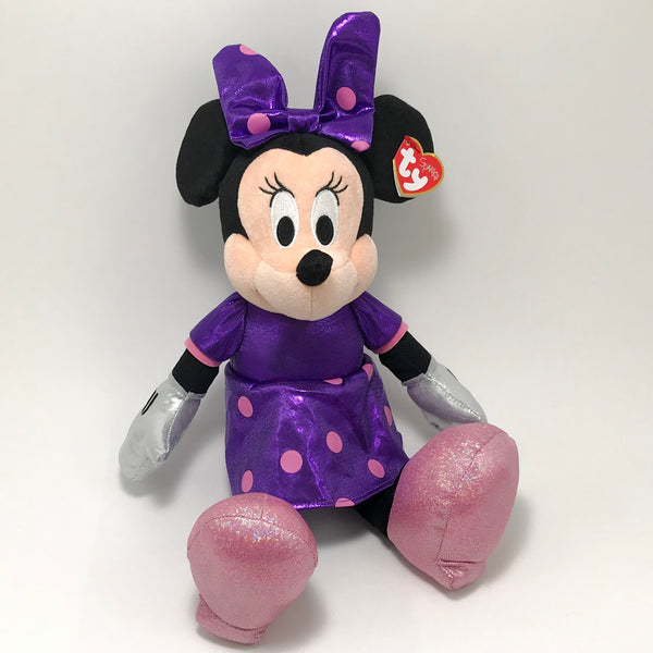 Minnie Mouse Sparkle Beanie Buddy - Blue Plum Collections