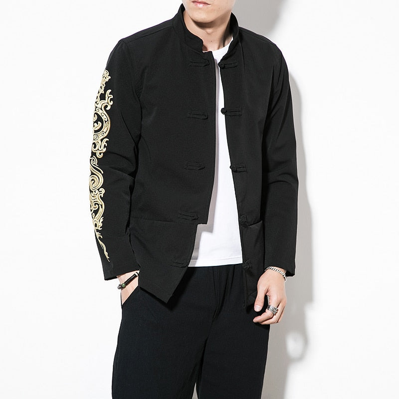 Dragon full sleeve Tang jacket