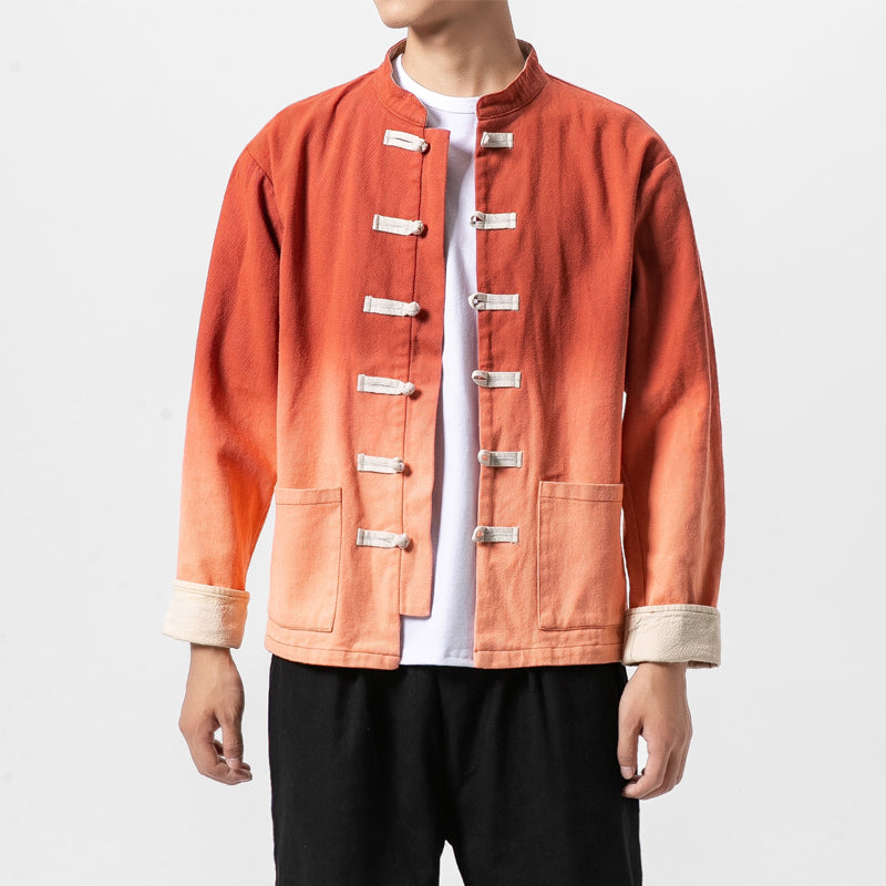2 color style Tang jacket