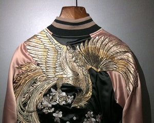 Mystical bird premium sukajan jacket