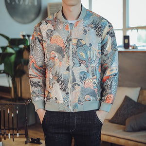 Tropic birds V2 bomber jacket