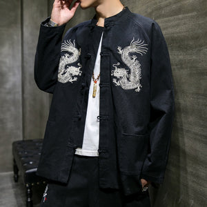 Twin dragon Tang jacket V2