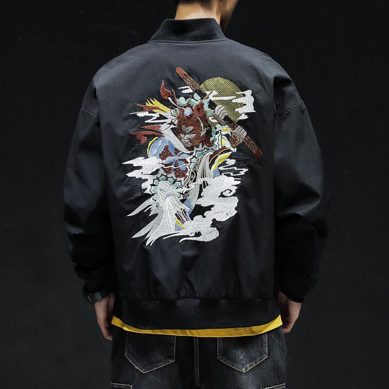 Mystical monkey V2 bomber jacket