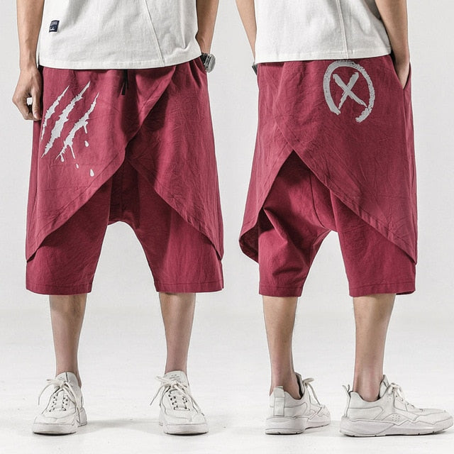 Scratch X baggy shorts