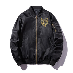 Tiger roar bomber jacket